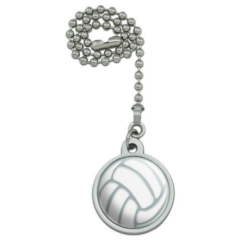 Volleyball Ball Ceiling Fan and Light Pull Chain