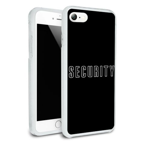Security Protective Slim Fit Hybrid Rubber Bumper Case Fits Apple iPhone 8, 8 Plus, X