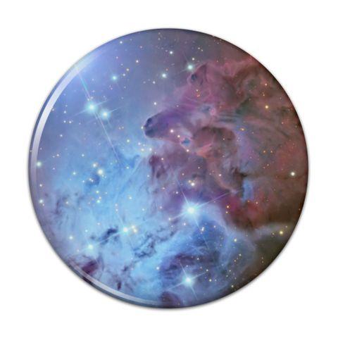 Fox Fur Nebula Monoceros Constellation Galaxy Compact Pocket Purse Hand Cosmetic Makeup Mirror