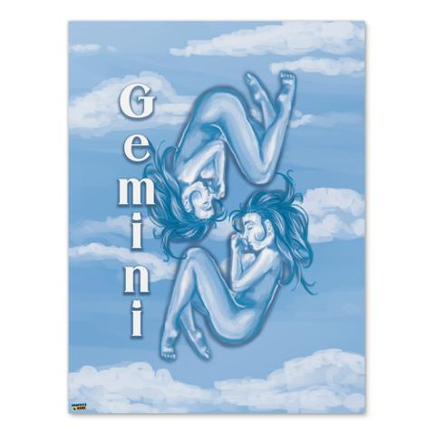Gemini the Twins Zodiac Horoscope  Home Business Office Sign