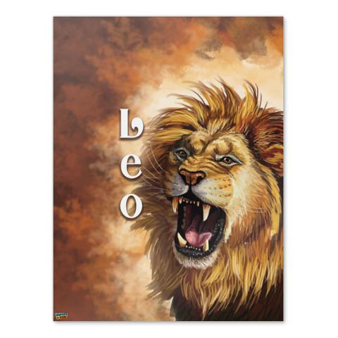 Leo the Lion Zodiac Horoscope Home Business Office Sign