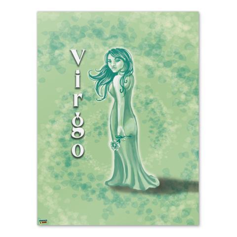 Virgo the Virgin Zodiac Horoscope Home Business Office Sign