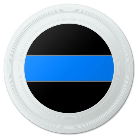 "Thin Blue Line Novelty 9"" Flying Disc"