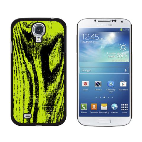 Wood Grain Green Galaxy S4 Case