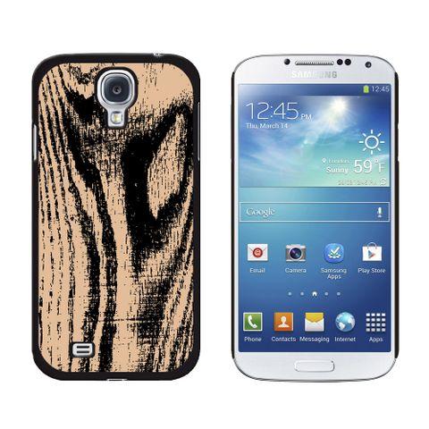 Wood Grain Tan Galaxy S4 Case