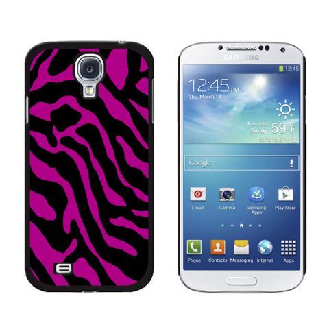 Zebra Print Fuchsia Galaxy S4 Case