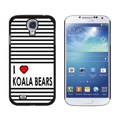 I Love Heart Koala Bears Galaxy S4 Case