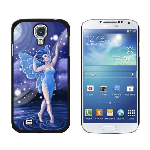 Blue Dancing Fairy - Moonlit Night Faerie Fae Galaxy S4 Case