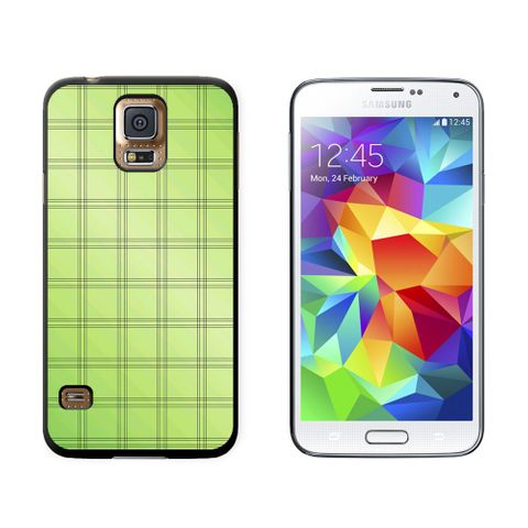 Mad for Plaid Green Galaxy S5 Case