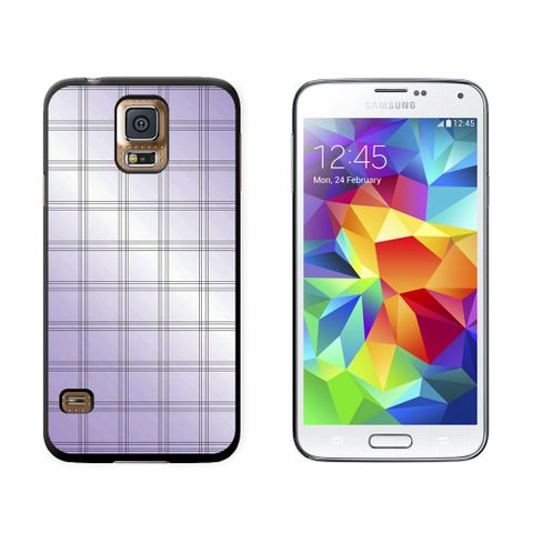 Mad for Plaid Purple Galaxy S5 Case