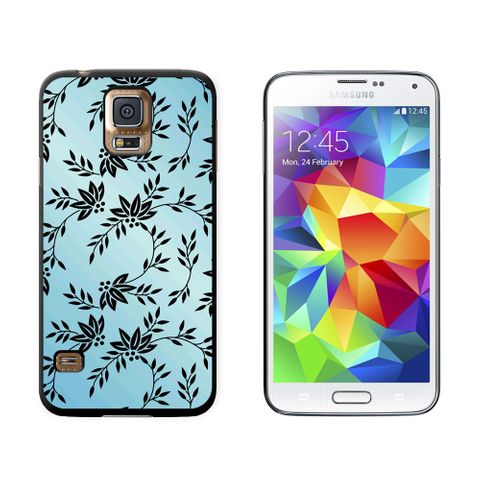 Power of Flowers Blue Galaxy S5 Case