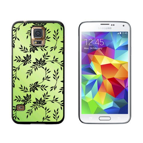 Power of Flowers Green Galaxy S5 Case
