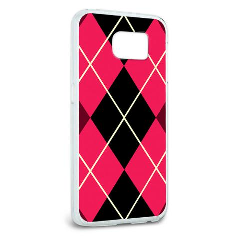 Argyle Hipster Pink - Preppy Galaxy S6 Case