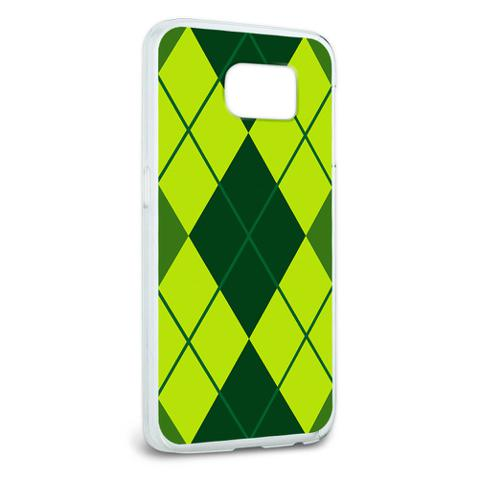 Argyle Hipster Green - Preppy Galaxy S6 Case