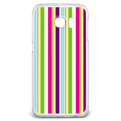 Yuppy Colorful Stripes Galaxy S6 Edge Case