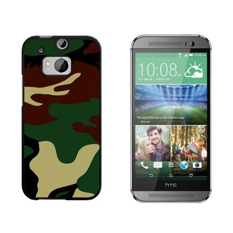 Camouflage Army Soldier HTC One M8 Case