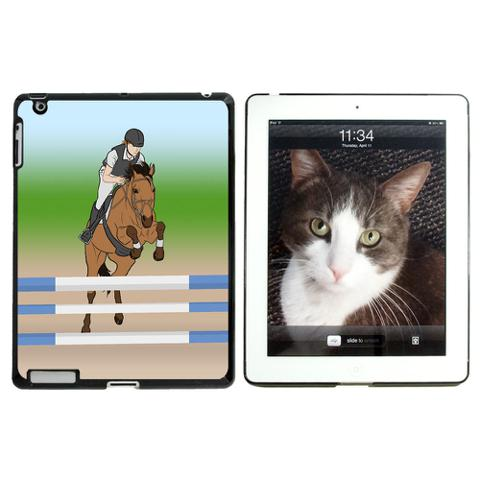 Horse Show Jumping iPad Case - No. 1