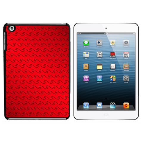 Making Waves Red iPad Mini Case