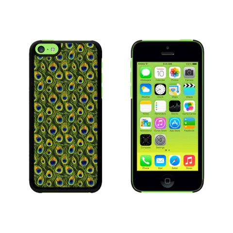 Peacock Print Case for Apple iPhone 5C