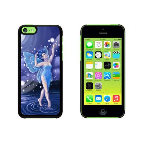 Blue Dancing Fairy - Moonlit Night Faerie Fae Case for Apple iPhone 5C