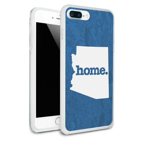 Arizona AZ Home State Protective Slim Hybrid Rubber Bumper Case for Apple iPhone 7+ Plus