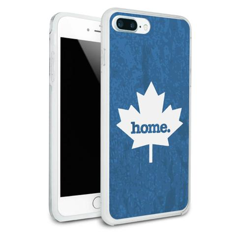 Canada Maple Leaf Home Country Protective Slim Hybrid Rubber Bumper Case for Apple iPhone 7+ Plus