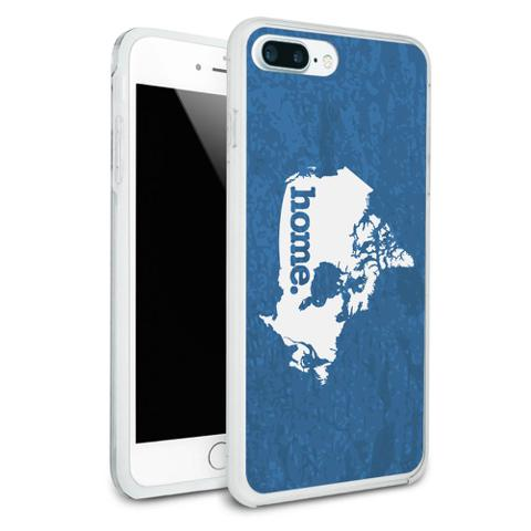 Canada Home Country Protective Slim Hybrid Rubber Bumper Case for Apple iPhone 7+ Plus