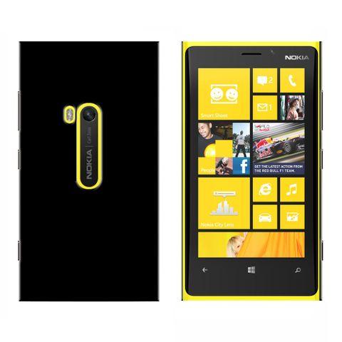 Black Snap On Case for Nokia Lumia 920