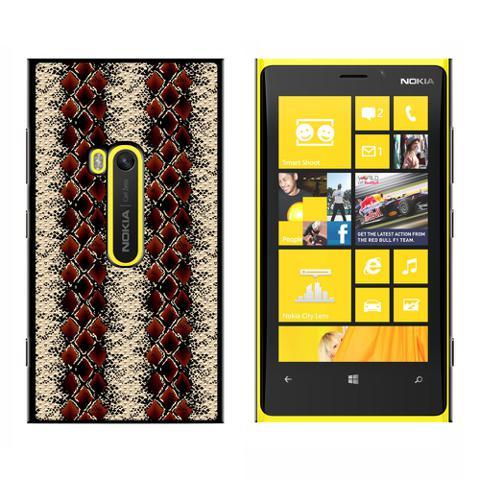 Snake Print - Snap On Case for Nokia Lumia 920