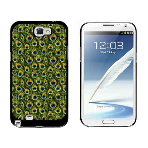 Peacock Print Galaxy Note II