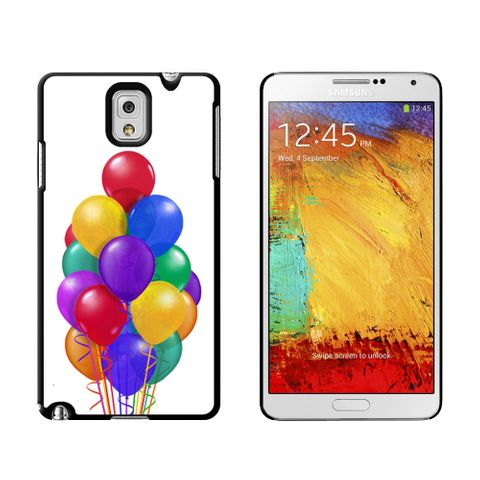 Bunch of Party Balloons - Birthday Case for Galaxy Note III