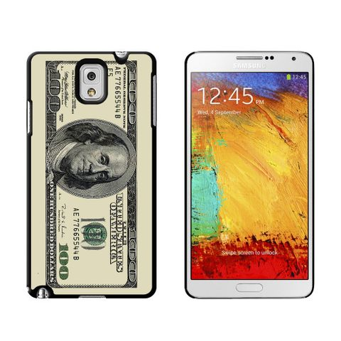 Hundred Dollar Bill Case for Galaxy Note III