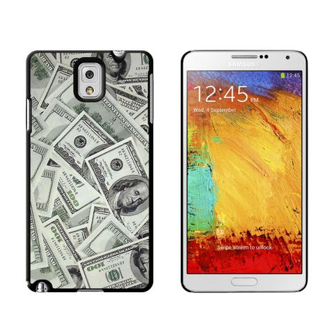 Hundred Dollar Bills Money Currency Case for Galaxy Note III