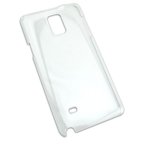 Snap On Clear Hard Protective Case for Samsung Galaxy Note 4