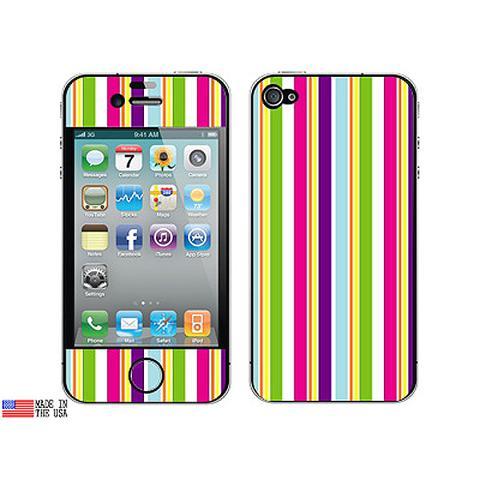 Yuppy Colorful Stripes iPhone 4 Skin