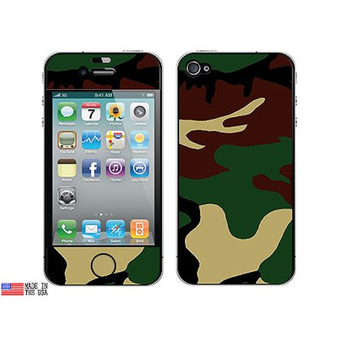 Camouflage Army Soldier iPhone 4 Skin