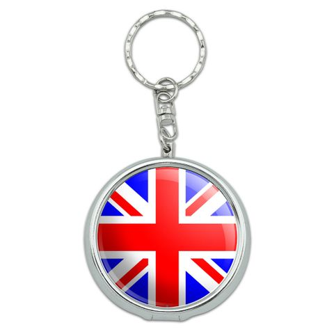 Britain British Flag Portable Ashtray Keychain