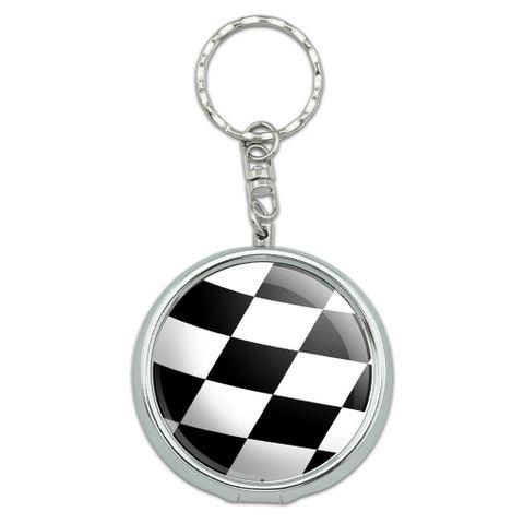 Checkered Flag - Racing Portable Ashtray Keychain