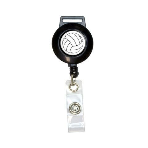 Volleyball Retractable Badge Card ID Holder