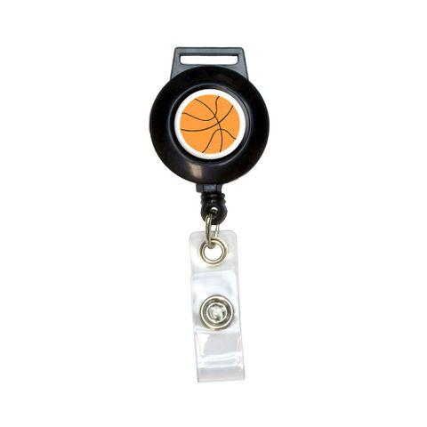 Basketball Retractable Badge Card ID Holder