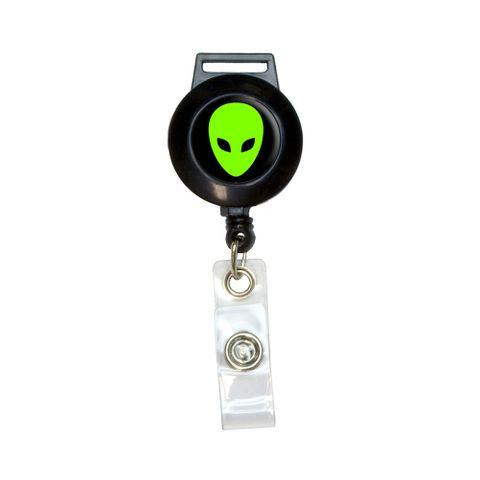 Alien Head - Roswell Retractable Badge Card ID Holder