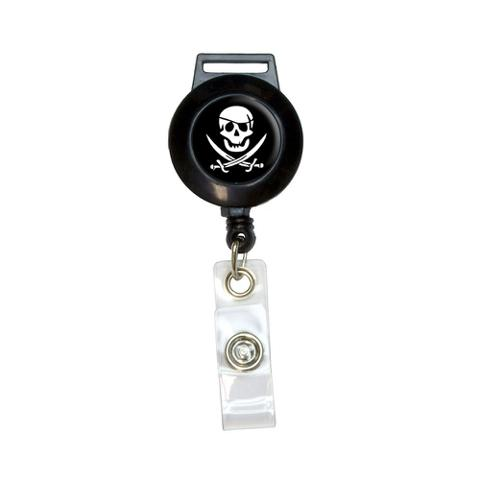 Pirate Retractable Badge Card ID Holder