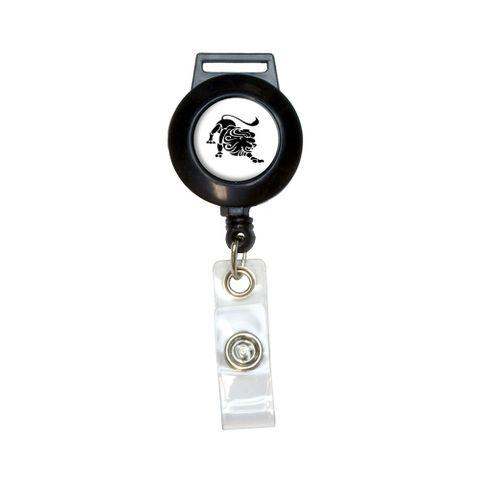 Leo The Lion Zodiac Horoscope Retractable Badge Card ID Holder