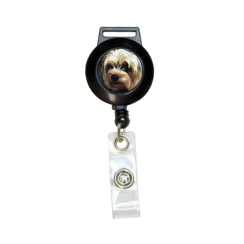 Yorkshire Terrier - Yorkie Dog Pet Retractable Badge Card ID Holder