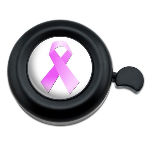 Breast Cancer Pink Ribbon Bicycle Handlebar Bike Bell