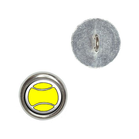 Tennis Ball Buttons - Set of 4