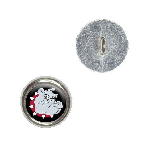 Bulldog Dog Buttons - Set of 4