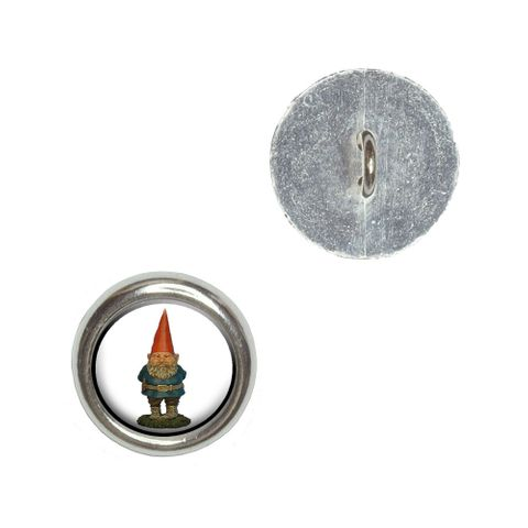 Garden Gnome Buttons - Set of 4