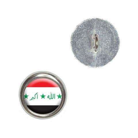 Iraq Iraqi Flag Buttons - Set of 4