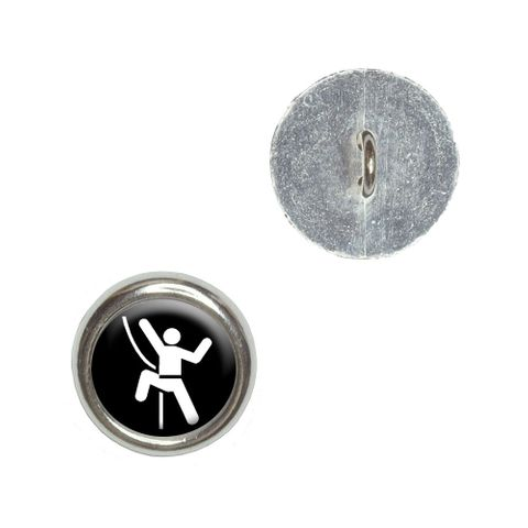 Rock Climbing Repelling Belay Buttons - Set of 4